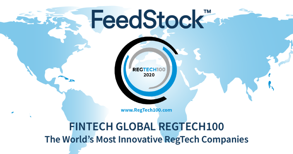 FeedStock selected for FinTech Global's REGTECH 100