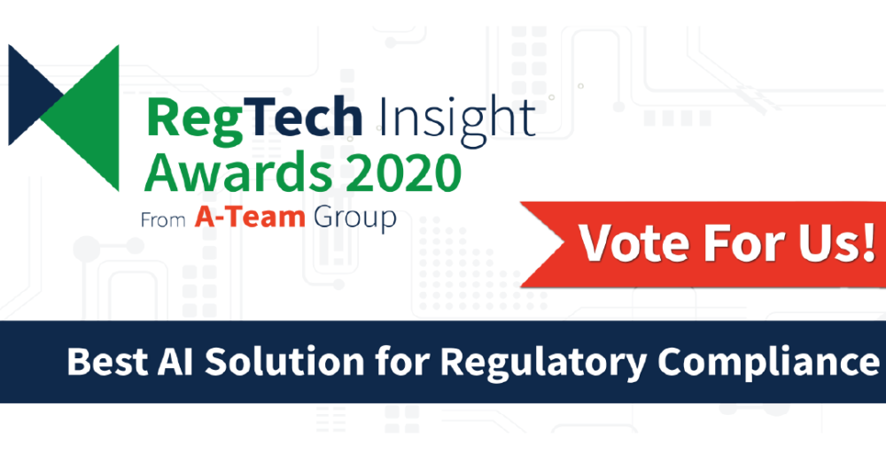 FeedStock shortlisted for the RegTech Insight Awards
